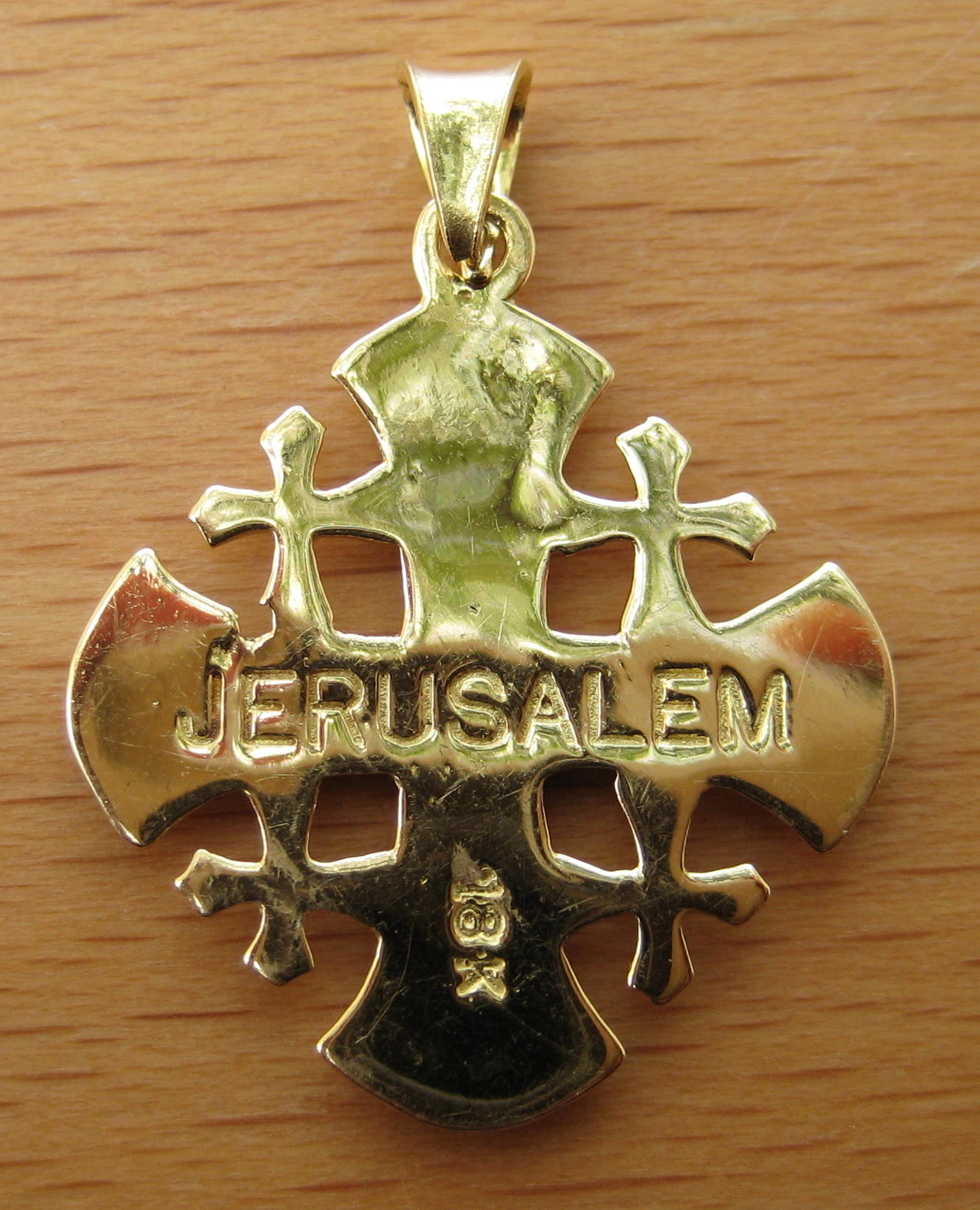 pendant jewelry products i diamond necklaces cross jerusalem reiss necklace enlarged
