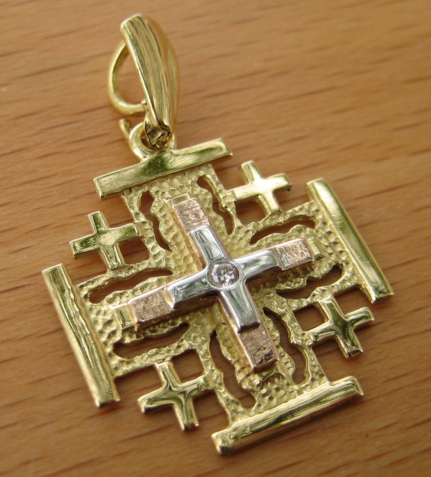 and diamonds my pendant necklace jewelry yellow gold store back cross with jwg white jerusalem inscription